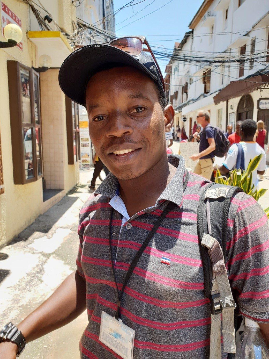lokale gider på Zanzibar