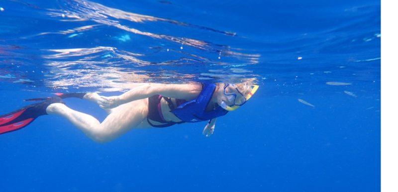 snorkling mauritius