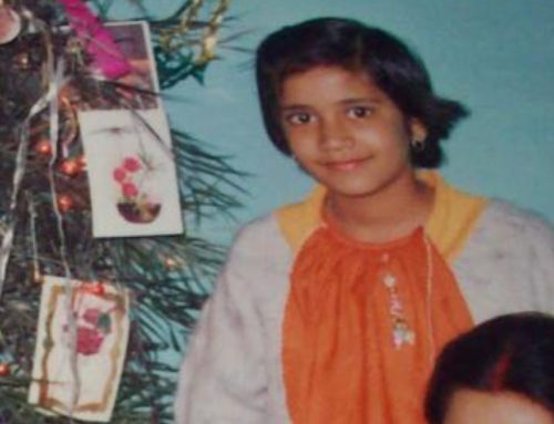 Ei jente fra India
