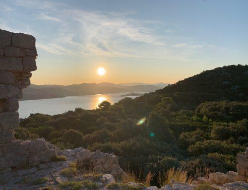 Reisebrev fra Kroatia, mindfulness på Lopud